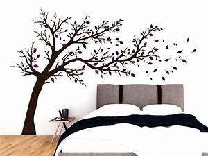 Sofa Mit Breiter Sitzfläche : wandtattoo breiter baum ber sofa oder bett ~ Bigdaddyawards.com Haus und Dekorationen