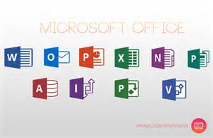 Logos Icons Microsoft Office 2016