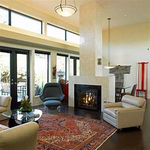 tapis persan dans le salon contemporain en 33 exemples With tapis salon contemporain