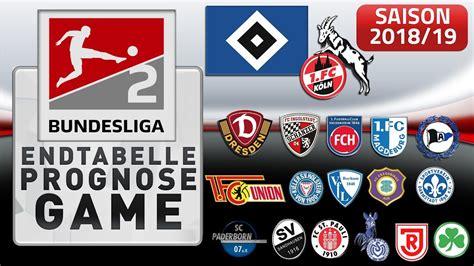 Bundesliga 2021/2022 page and find many useful statistics with chart. 2.BUNDESLIGA - ENDTABELLE PROGNOSE GAME SAISON 2018/19 ⚽ FORMCHECK - YouTube