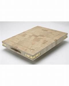 Planche A Decouper : planche d couper bellynck en bois de bout fabrication fran aise equerre laiton ou inox ~ Teatrodelosmanantiales.com Idées de Décoration