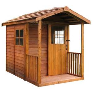 shop cedarshed common 6 ft x 12 ft interior dimensions