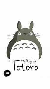 My Neighbor Totoro Art Minimal iPhone 6 wallpaper | iPhone ...