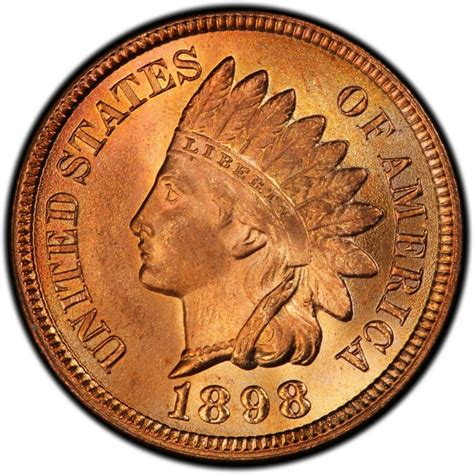 indian value 1898 indian head pennies values and prices past sales coinvalues com