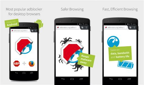 best adblock for android top 3 best ad blocker apps for android to block ads