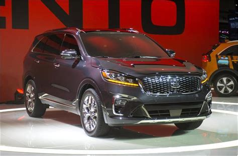 Refreshed 2019 Kia Sorento What You Need To Know Us
