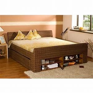 Lit En Rotin : lit colonial dans chambre adulte achetez au meilleur prix avec ~ Teatrodelosmanantiales.com Idées de Décoration