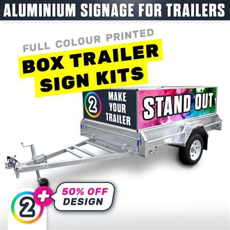 order trailer signs  australia box trailer signage dp au