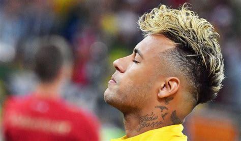 brazil breathes sigh  relief  neymars hairdo change