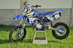 85 Yz 2010 : moto cross 85 yz kit d co moto cross replica yamaha 85 yz blanc bleu kit d co moto cross flow ~ Maxctalentgroup.com Avis de Voitures