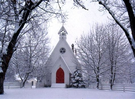 winter church in cove or christmas pinterest