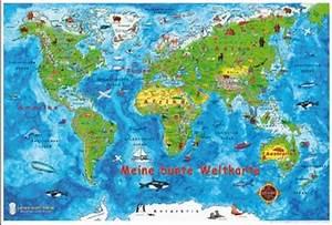 Weltkarte Poster Kinder : meine bunte weltkarte e z verlag ~ Yasmunasinghe.com Haus und Dekorationen