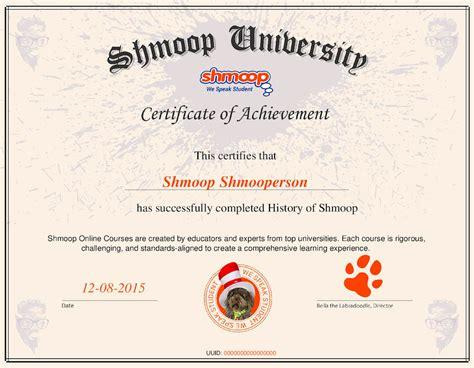 Certificate Courses course certificates shmoop
