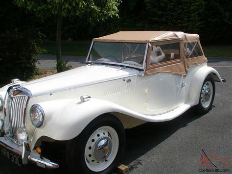 gentry kit car classic mg tf replica project finish