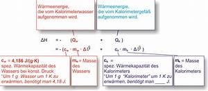 Chemie Mol Berechnen : 7 2 bestimmung der neutralisationsenthalpie ~ Themetempest.com Abrechnung