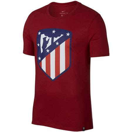 Atlético madrid have unveiled a new club crest, which will appear on all los rojiblancos' kits from the 2017/18 however, the crest has so far met with a mixed reception among the atleti faithful, with. Nike Atletico Madrid Crest Tee | WeGotSoccer.com