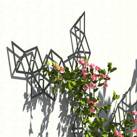 Rankgitter Metall Modern by Garten Im Quadrat Pyramid Rankhilfe Modernes Rankgitter