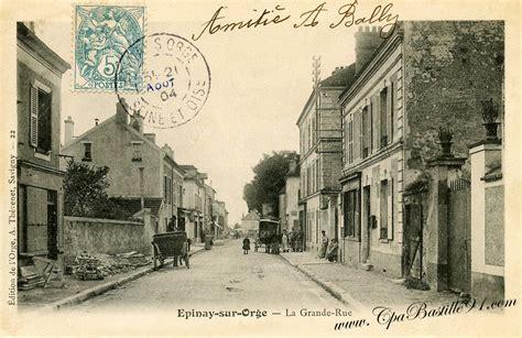 bureau de poste savigny sur orge carte postale de1900 é sur orge grande rue