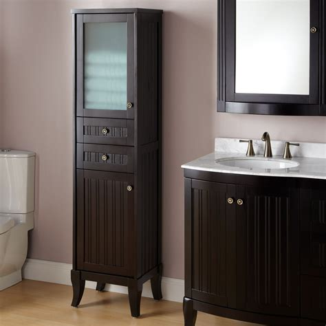 Well Suited Tall Linen Cabinet The Homy Design
