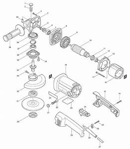 Buy Makita 9015b 5 U201d Angle Replacement Tool Parts