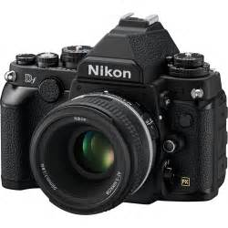 Nikon Df DSLR Camera with 50mm f/1.8 Lens (Black) 1527 B&H ...