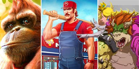 20 Crazy Fan Redesigns Of Mario Characters Screenrant