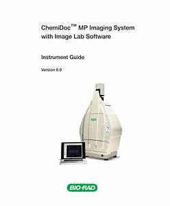 Chemidoc Mp Imaging System User Guide