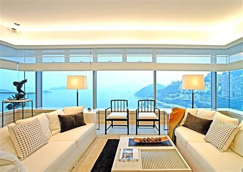 Synergistic Modern Spaces By Steve Leung by Living Room With Sea Views Is Neutral To Give The Sea The