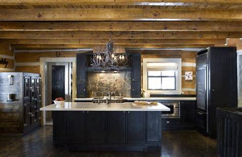 kitchen buffet furniture get this look winter chalet interior design inspiration