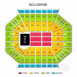 Dcu Center Seating Chart Dcu Center Tickets Dcu Center Seating Chart Vivid Seats