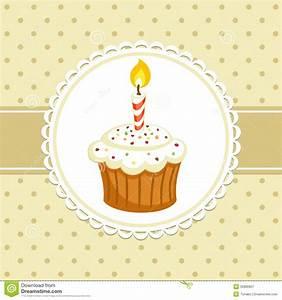Cupcake stock vector. Image of food, brown, engagement ...