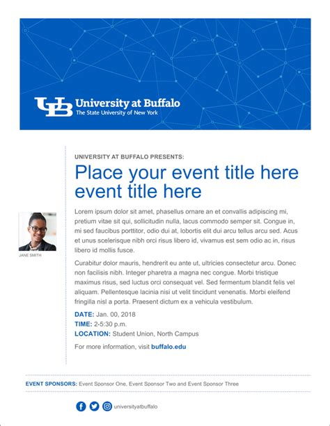Branded Flyer Templates - Identity and Brand - University ...