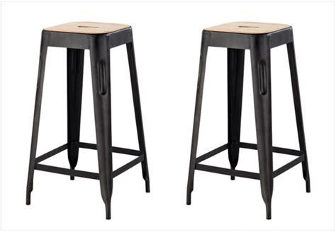 tabouret de cuisine en bois tabouret de bar metal noir table basse table pliante et