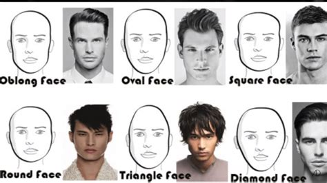 long  short hairstyles  men   face shape