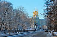 St. Petersburg Russia Winter Snow