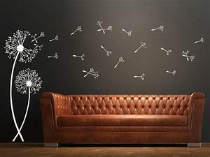 Wandtattoo Küche Bilder : wandtattoo pusteblumen mit fliegenden samen wandtattoo de ~ Sanjose-hotels-ca.com Haus und Dekorationen