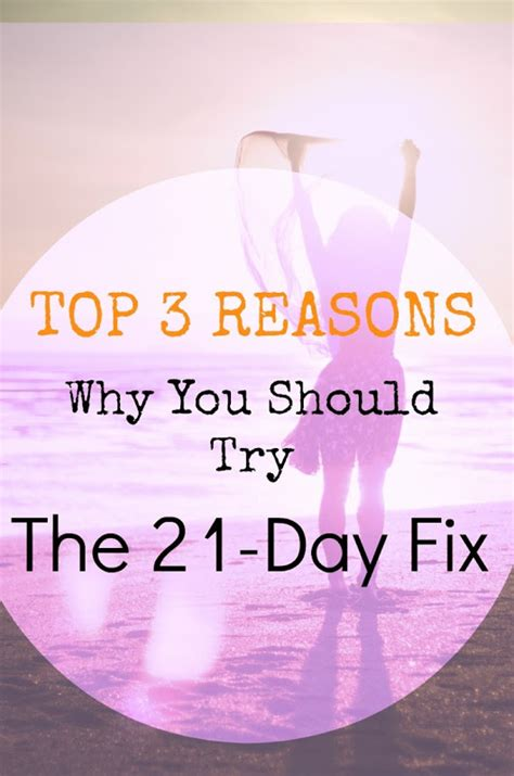 Top Three Reasons Why Dino Top 3 Reasons Why You Should Try The 21 Day Fix Project