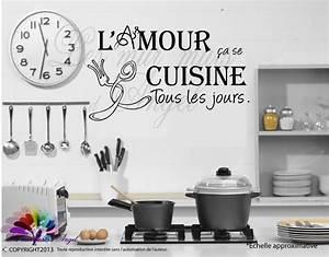 Stickers Muraux Pour Cuisine Wwwlesmurmursdangelfr