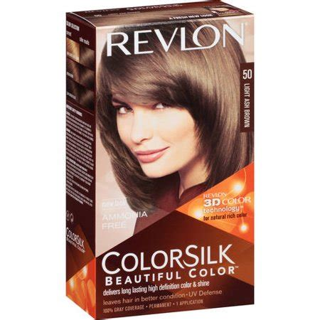 revlon colorsilk beautiful color  light ash brown