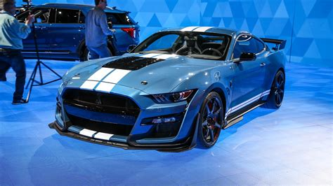 ford mustang shelby gt raises  million