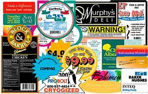 product labels from gourmet foods and high tech With how to print product labels at home