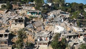 Haiti Homes Destroyed by Earthquakes