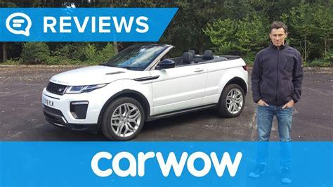 Range Rover Evoque Convertible 2017 Suv Review