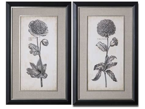 Uttermost Wall by Uttermost Singular Floral Wall 2 Set