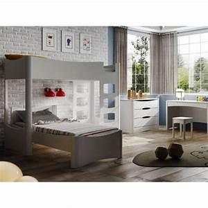 Lit Superposé Ado : chambre mezzanine free chambre ado ikea lit lit mezzanine ~ Farleysfitness.com Idées de Décoration