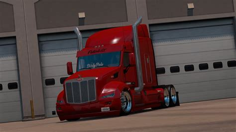 american truck simulator peterbilt  dirtypete