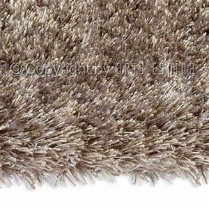 Tapis shaggy swing taupe arte espina 70x140 for Tapis shaggy taupe