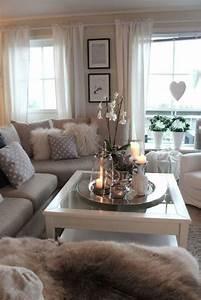 Chic Home Living : gorgeous yet cozy rustic chic living room d cor home ~ Watch28wear.com Haus und Dekorationen