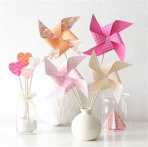 Moulin A Vent Enfant : 8 moulins vent pour bapt me anniversaire mariage d coration chambre d 39 enfant coloris ~ Melissatoandfro.com Idées de Décoration