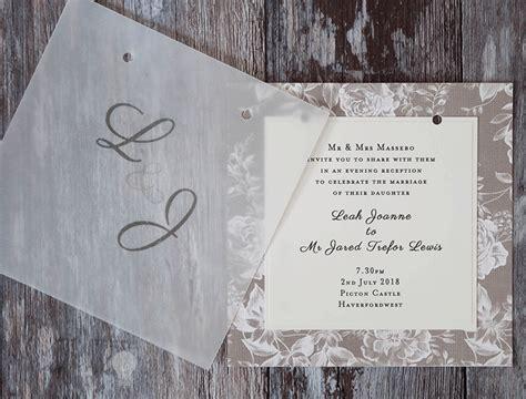 How To Make... Gorgeous Vellum Wedding Stationery